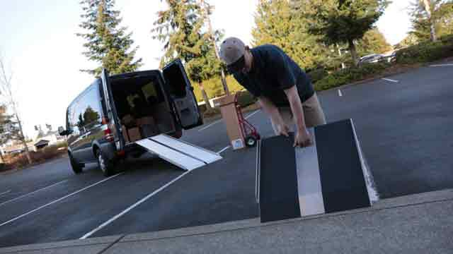 Delivery Curb Ramps