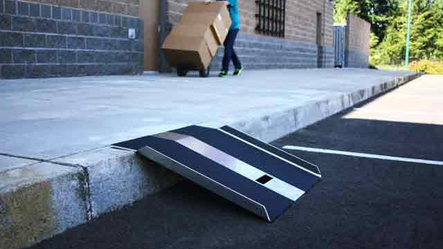 Portable Curb Ramps