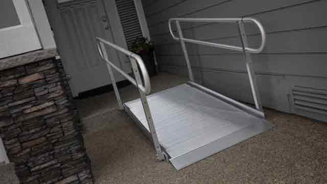 Gateway 3G Handicapped Ramps