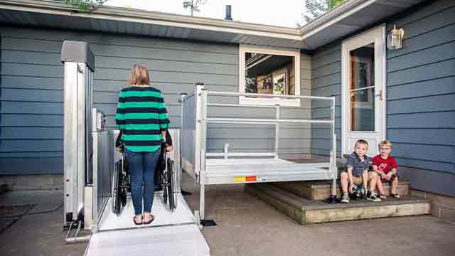 ... Wheelchair Lift; Passport Scooter Lift; Electric Portable Lift
