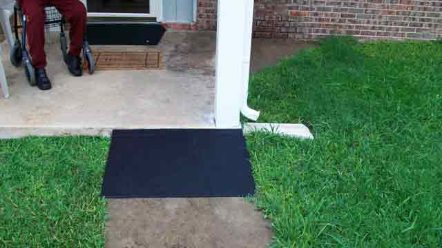 Rubber Ramps for Steps