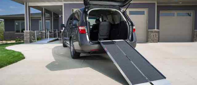 Suitcase Ramps for Vans