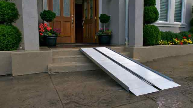 Portable Wheelchair Ramps Handicap Ramps For Home Express Ramps