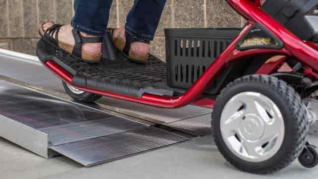 Portable Suitcase Ramp