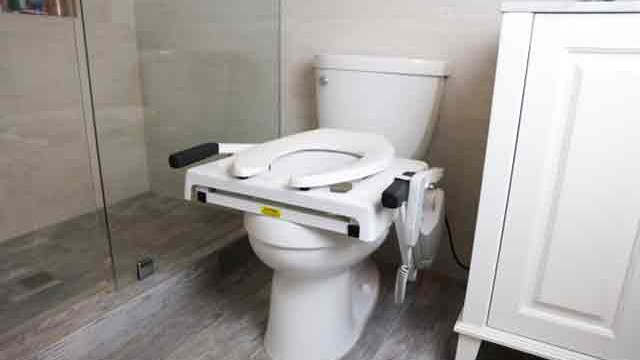 Tilt Power Toilet Seat Lift