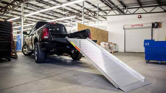 Portable Truck Loading Ramps
