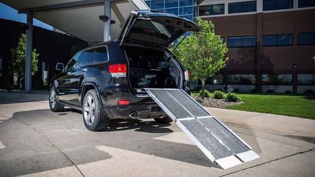 Trifold Wheelchair Ramp