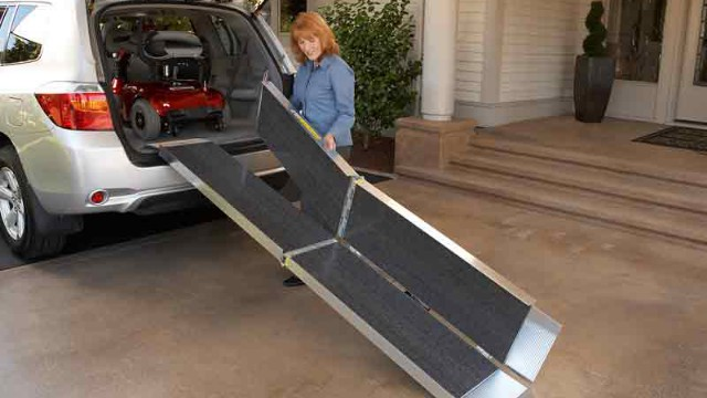 Wheelchair Ramp for Vans, minivans SUVs