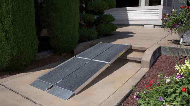 Portable Ramps for Steps