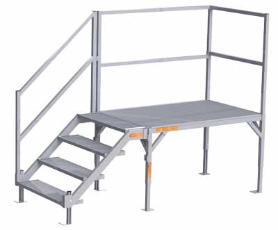 Adjustable OSHA Step Systems