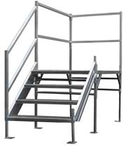 OSHA Stairs Systems - Metal Stairs for trailers