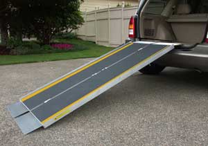 Portable Wheelchair Ramps for the House | eHow.com
