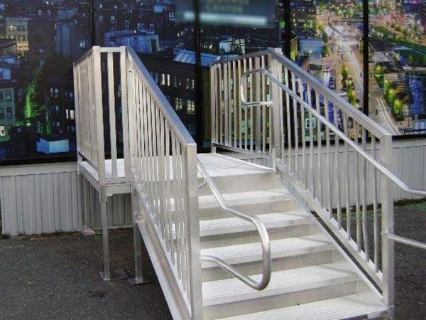 Durable Metal Stairs