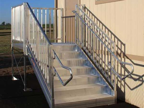 Adjustable Aluminum Stairs