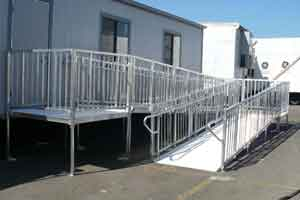 EZ-Access Titan Wheelchair Ramps Meets ADA Ramp Slope Requirements.