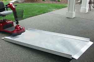 EZ-Access Gateway Handicapped Scooter Ramps for homes