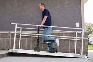 Gateway Wheelchair Ramps with Handrails