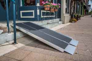 EZ Access Advantage Suitcase Portable Handicap Ramp