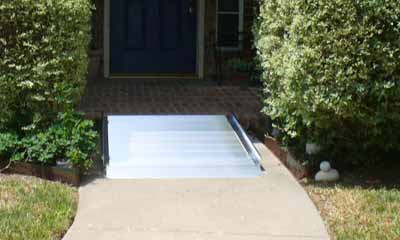 Gateway Portable Wheelchair ramps for homes.