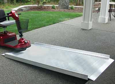 EZ Access Gateway ramps for wheelchairs or scooters