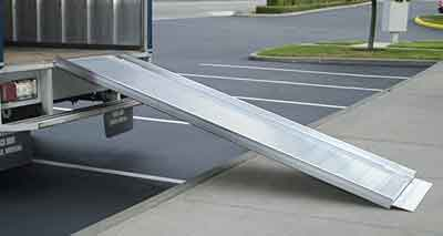 Truck Ramps, Trailer Ramps, Delivery trucks, van, box trucks and work sites