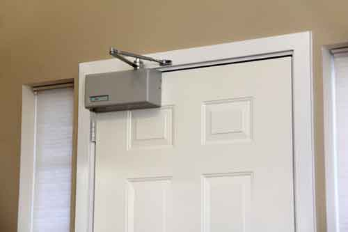 use on either interior or exterior doors. & Power Door Opener | Door Opener Automatic | Express Ramps