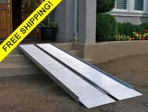 Suitcase Portable Wheelchair Ramp Signature Series