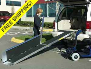 EZ-Access Trifold Portable handicap Ramps for wheelchairs