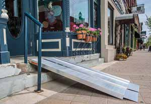 Suitcase Ramps perfect for Stairs, Decks, Porches and more