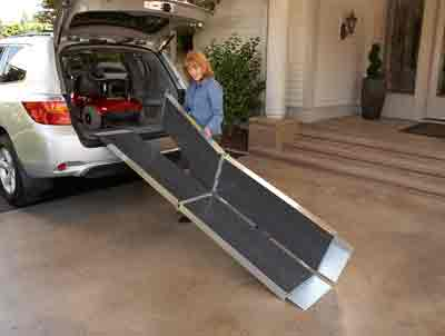 10  Foot Trifold Wheelchair Ramp Advantage Series