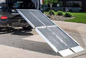 handicap ramps for minivans. trifold portable wheelchair ramps use with suv\u0027s, vans or trucks. handicap for minivans