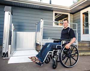 Passport Vertical Wheelchair Lifts.
