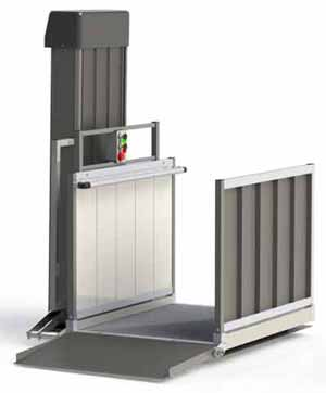 P72TP - Passport Vertical Platform Lift  - 72 inch